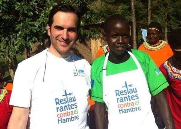 Mario Sandoval en Kenia